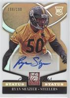 Rookie Signatures - Ryan Shazier #/199