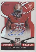 Rookie Signatures - Carlos Hyde #/49