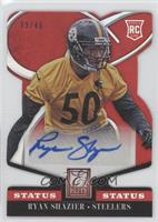 Rookie Signatures - Ryan Shazier #/49