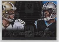 Cam Newton, Drew Brees