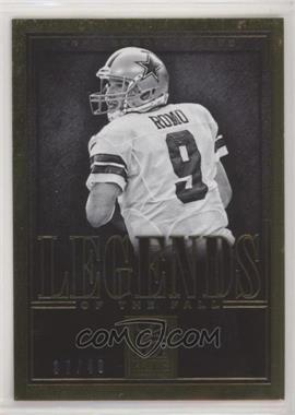 2014 Panini Elite - Legends of the Fall - Gold #13 - Tony Romo /49 [EXtoNM]