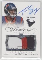 Tom Savage [Noted] #/25