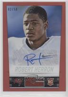 Robert Herron #/50