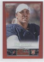 Tom Savage /149