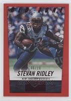 Stevan Ridley /20