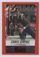 Chris Givens /20