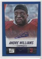 Andre Williams #/75