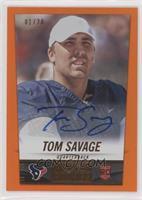 Tom Savage #/20