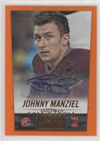 Johnny Manziel #/25