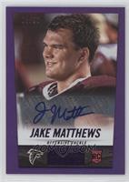 Jake Matthews #/50