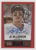 AJ McCarron #/35