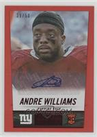 Andre Williams /50