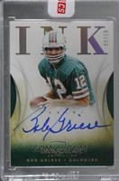 2015 Immaculate 2014 Update - Bob Griese #/10