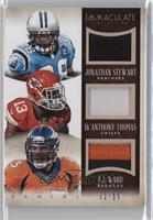De'Anthony Thomas, Jonathan Stewart, T.J. Ward #/10