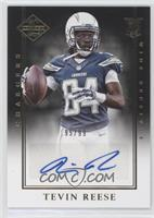 Rookie Signatures - Tevin Reese #/99