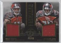 Charles Sims, Mike Evans /99