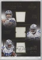 DeMarco Murray, Dez Bryant, Tony Romo #/75