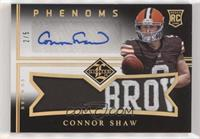 Connor Shaw #/5