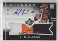 AJ McCarron #19/49