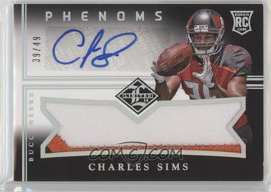 2014 Panini Limited - Rookie Phenoms Level 2 - Silver Spotlight #172 - Charles Sims /49