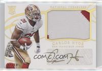 Rookie Materials Signatures - Carlos Hyde #/10