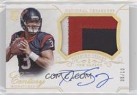 Rookie Patch Century Materials Signatures - Tom Savage #/10