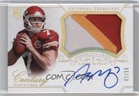 Rookie Patch Century Materials Signatures - Aaron Murray #/10