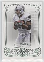 T.J. Carrie #/38