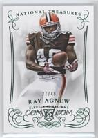 Rookie - Ray Agnew #/48