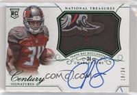Rookie Patch Century Materials Signatures - Charles Sims #/34