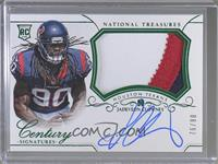 Rookie Patch Century Materials Signatures - Jadeveon Clowney #/90