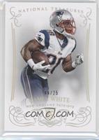 Rookie - James White #/25