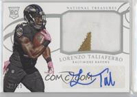 Rookie Materials Signatures - Lorenzo Taliaferro /25