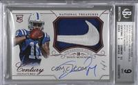 Rookie Patch Century Materials Signatures - Donte Moncrief [BGS 9 MIN…