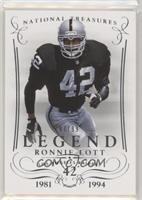 Legend - Ronnie Lott #/99