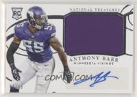 Rookie Materials Signatures - Anthony Barr #/99