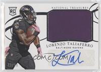 Rookie Materials Signatures - Lorenzo Taliaferro #/99