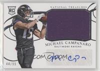 Rookie Materials Signatures - Michael Campanaro /99