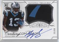 Rookie Patch Century Materials Signatures - Kelvin Benjamin /99