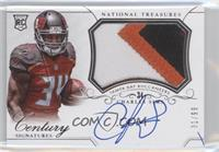 Rookie Patch Century Materials Signatures - Charles Sims #/99