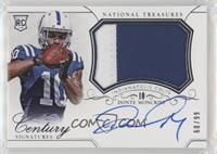 Rookie Patch Century Materials Signatures - Donte Moncrief #/99