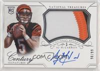 Rookie Patch Century Materials Signatures - AJ McCarron #/99