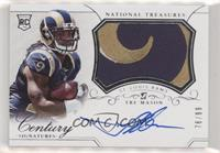 Rookie Patch Century Materials Signatures - Tre Mason [EX to NM] #/99