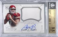 Rookie Patch Century Materials Signatures - Aaron Murray [BGS 9.5 GEM…
