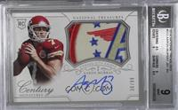 Rookie Patch Century Materials Signatures - Aaron Murray /99 [BGS 9]