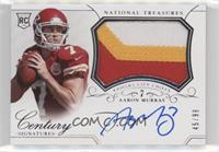 Rookie Patch Century Materials Signatures - Aaron Murray #/99