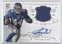 Andre Williams #/49