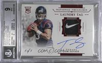 Tom Savage /1 [BGS 9 MINT]