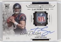 Tom Savage #/5