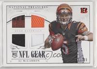 AJ McCarron [GoodtoVG‑EX] #/99
